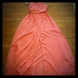 """White by Vera Wang """"coral reef"""" gown"""